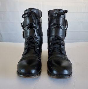 Sugar combat boots